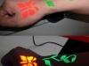 Fluorescent UV Tattoo