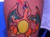 Body Painting - Charizard (Pokemon)