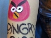 Body Painting - Angry Birds