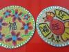 CNY coaster painting