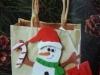 Xmas Snowman Paperbag