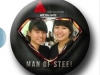 Instant Photo Badges - Man of Steel