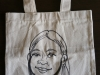 Caricature Tote Bag