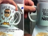 Caricature Drawing on Mug - After